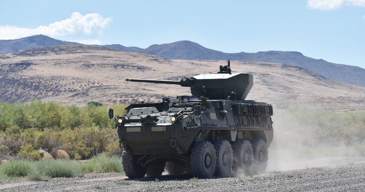 Oshkosh Defense to update weapon system on U.S. Army Stryker Infantry Carrier Vehicles
